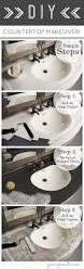 Painting Bathroom Countertops Best 25 Diy Bathroom Countertops Ideas On Pinterest Bathroom