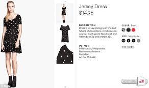 taylor swift wears 15 h u0026m polka dot dress daily mail online