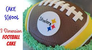 football cakes diy football cake how to make a football cake diy steelers