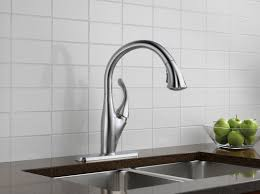 delta hands free kitchen faucet faucet com 9192 ar dst in arctic stainless by delta