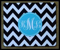 Custom Desk Accessories Mouse Pad Monogrammed Gifts Personalized Mousepad Computer