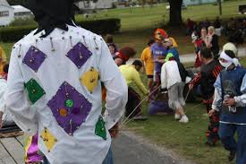 traditional cajun mardi gras costumes a study of tradition and change in the gheens mardi gras