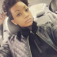 short black hair styles that have been shaved short hairstyle mohawk for black women shaved sides shaved