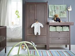 Sundvik Changing Table Reviews A Baby Room With Grey Brown Sundvik Changing Table Wardrobe And