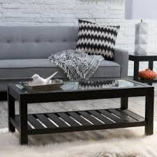 Black Glass Coffee Table Glass Coffee Tables On Hayneedle Glass Top Coffee Tables