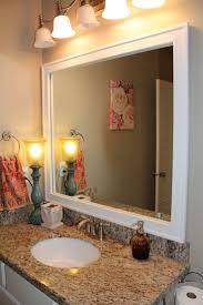 bathroom cabinets mirror pedestal sink bathroom craftsman with