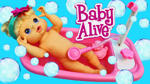 crazy baby alive bath time fail and baby doll parody with