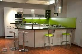 cuisine mur vert pomme contemporain decoration cuisine vert pomme id es de design canap
