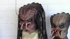 silicone mask halloween silicone animatronic predator mask youtube