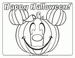 happy halloween free halloween online coloring within happy