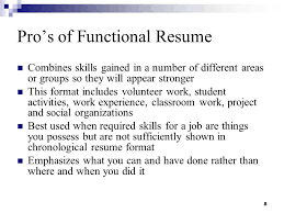 Skills For A Job Resume by Resume Writing And Interviewing Skills Ppt Download