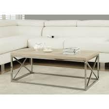 wood top coffee table metal legs modern rectangular coffee table with natural wood top and metal legs