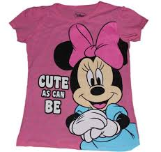 buy disney minnie mouse cute girls shirt cheap