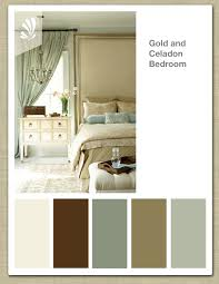 soothing colors for a bedroom gold celadon cream butterscotch color palette elegant bedroom
