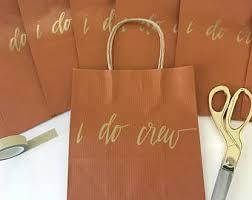 bridal shower gift bags fall wedding gift etsy