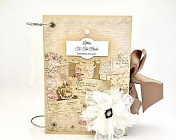 bridal shower photo album bridal shower scrapbook album bridal shower memory book