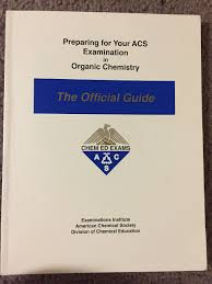 preparing for your acs examination in organic chemistry the