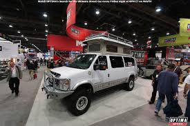 optima ford econoline van sema show project update