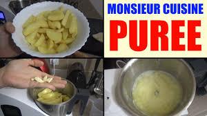 recette cuisine plus lidl monsieur cuisine recette purée silvercrest skmh 1100 mr
