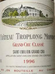 learn about chateau troplong mondot 1996 château troplong mondot bordeaux libournais st