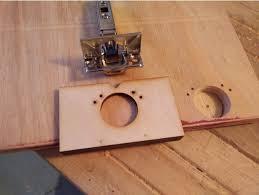 Cabinet Door Hinge Jig Hinge Jig Laser Cut For Kitchen Cabinet Door Hinges By Bazzz