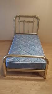 vintage u201csolid brass u201d single bed frame real brass