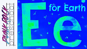letter e for earth fun preschool crafts for kids best