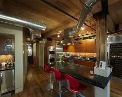 kitchen with loft tags modern loft kitchen design lovely pink