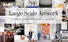 large scale art the busy blog