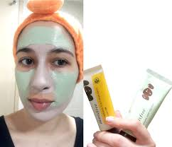 review new 2017 innisfree jeju volcanic color clay mask cica