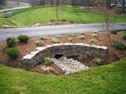 Backyard Drainage Ideas Drainage Stacked Stone U2013landscaping Ciminelli U0027s Landscape