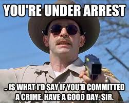 Good Day Sir Meme - you re under arrest is what i d say if you d committed a crime