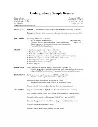 resume for students sle resumenternships exles cv student college sle no free resumes
