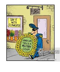 Flower Store Military Dictators Cartoons And Comics Funny Pictures From