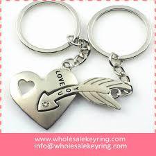 love key rings images Wholesale heart with arrow keyrings pair love you heart arrow jpg