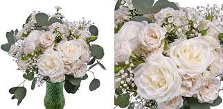 White Centerpieces Budget Saver Wholesale Centerpieces Fiftyflowers The Blog