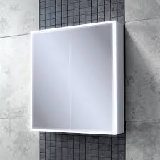 hib qubic 60 double door cabinet with charging socket and led