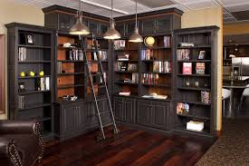 beautiful home library furniture in home decor interior design