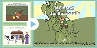 jack and the beanstalk story powerpoint jack and the