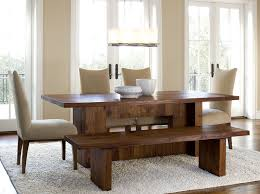 dining room sets with bench inspiring dining room sets with bench and chairs 92 with