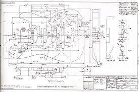 fender strat 62 reissue blueprint guitar plans pinterest