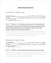 doctors note excuse form fake doctors note pinterest note