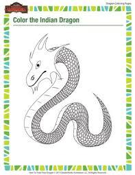 color indian dragon u2013 dragon coloring printables u2013