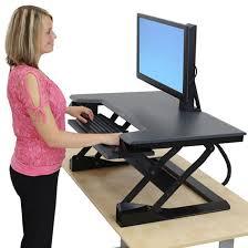 sit and stand desk converter ergotron 33 397 085 ergoworks pinterest