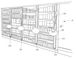 retail store floor plans patent us20080251481 method of organizing an aisle at a retail