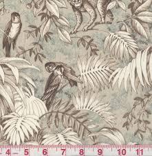 details about p kaufmann cape town khaki beige jungle print home