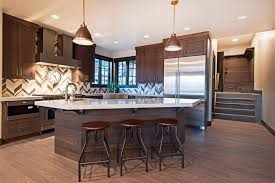Contemporary Walnut Kitchen Cabinets - 53 high end contemporary kitchen designs with natural wood