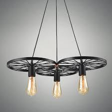 Retro Pendant Lighting Buy Vintage Wheel Industrial Retro Pendant Lights At Lifeix Design