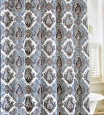 Shower Curtain Blue Brown Light Blue And Brown Shower Curtain Shower Curtain Rod