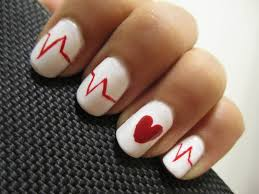 valentine u0027s day heartbeat nails youtube